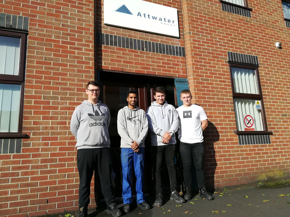 Attwater invests in the future with latest apprentice intake
