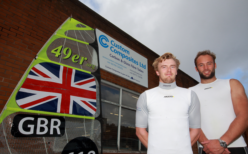 Custom Composites team up with Olympic hopefuls